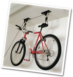 Overhead Bike Storage
